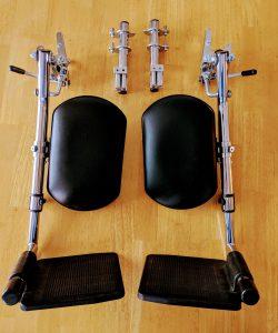 Aidacare Flip Away Footrest